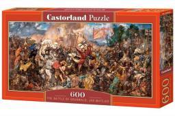 Castorland Puzzle 600 elementów Jan Matejko, Bitwa pod Grunwaldem