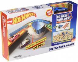 Hot Wheels  Track Builder Akcesoria do rozbudowy Zakręt z przyśpieszeniem (DNH84/FPG95)