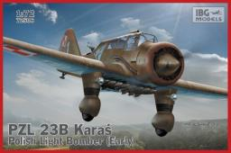 Ibg PZL. 23B Karaś Polish Light  Bomber (Early product)