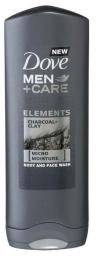Dove  Żel pod prysznic Men Charcoal+Clay (668094) 250ml