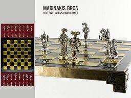 MARINAKIS BROSS Szachy - Rocco Chess Set - 086-2104