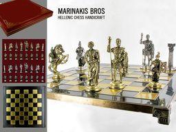 MARINAKIS BROSS Szachy - Romans Chess Set - 086-4512