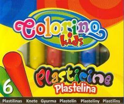 Colorino Plastelina Patio, 6 kolorów (13871)