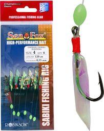Sea Fox Przywieszka śledziowa Sea Fox, r. 6, 6 szt. - 45-ZA-S02-6