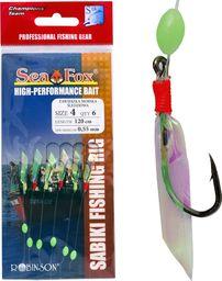 Sea Fox Przywieszka śledziowa Sea Fox, r. 4, 6 sztuk  (45-ZA-S02-4)