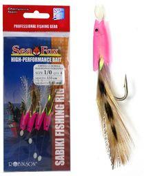Sea Fox Przywieszka makrelowo-dorszowa Sea Fox, r. 3/0, 4 sztuki (45-ZA-M03-3/0)