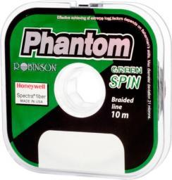 Robinson Plecionka przyponowa Phantom Green Spin 0.12mm, 10m (56-PT-212)