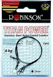 Robinson Przypony stalowe 25cm/12kg, 2szt. (80-S12-25)