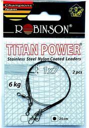 Robinson Przypony stalowe 50cm/22kg, 2szt. (80-S22-50)