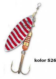 Robinson Błystka Panther 4 srebrno-czerwona r. 4 (41-P4-S26)