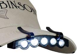 Robinson Latarka na daszek czapki - 99-LM-008