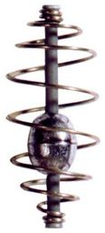 Robinson Sprężyna zanętowa, dociążona w środku 5.5 cm 15g (82-DO-103)