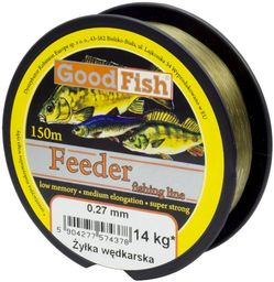 GoodFish Żyłka Feeder 0.24mm, 150m (A-55F-024)