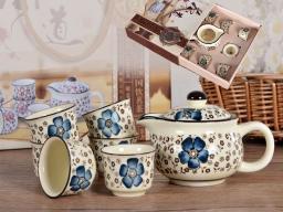 SAGRADO Zestaw do herbaty czajnik, 6 czarek (846-3090)