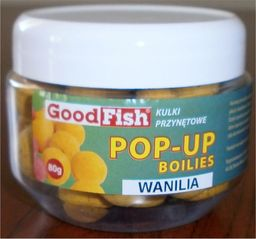 GoodFish Kulki pop-up 16mm Vanilia 80g (A-63-KP-160-VAN)