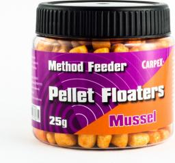 Carpex Method Feeder Pellet Floaters - Mussel, 25g (64-MF-MUS)