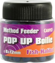 Carpex Method Feeder POP UP Boilie - Fish-Halibut, śr. 8 & 12mm, 20g (64-MP-FIH)