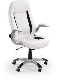 Halmar SATURN fotel gabinetowy biały