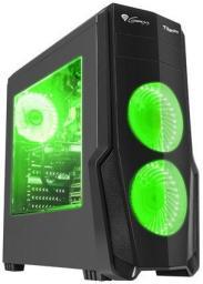 Obudowa Genesis   TITAN 800  Zielony (NPC-1130)