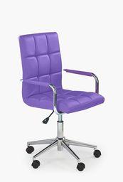 Halmar GONZO 2 fotel młodzieżowy fioletowy