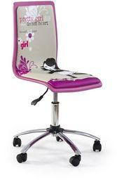 Halmar FUN1 fotel młodzieżowy różowy