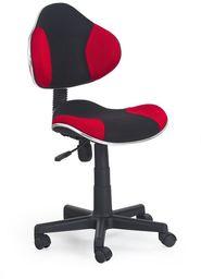 Halmar FLASH fotel młodzieżowy czarno-czerwony