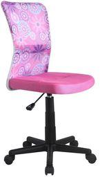 Halmar DINGO fotel młodzieżowy różowy