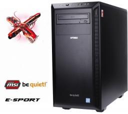Komputer Optimus E-sport Intel Core i5-7400, 8 GB, GeForce GTX 1050 Ti, 1TB HDD
