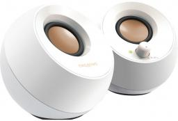 Głośniki komputerowe Creative Pebble Biały 2.0 USB Jack (51MF1680AA001)