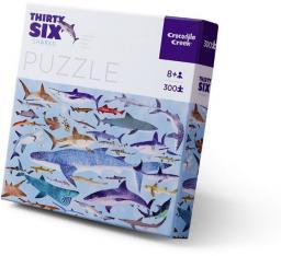 Crocodile Creek Puzzle 300 el., Motyw Rekiny (CC-4068-6)
