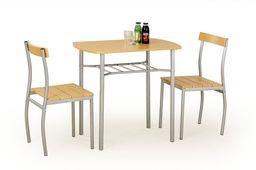 Halmar Zestaw Lance stół i 2 krzesła olcha