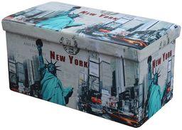 Halmar Pufa Moly XL New York wielobarwna