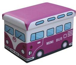 Halmar Pufa Kiri różówy - minibus