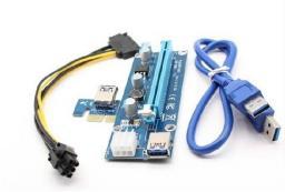 Qoltec Riser PCi-E 1x - 16x   USB 3.0 (55501)