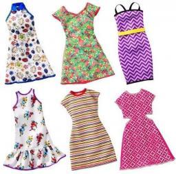 Mattel BARBIE Modne sukienki Sport, różne rodzaje FCT12/FCT16