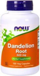 NOW Foods Dandelion Root 500 Mg - 100 Kapsułek