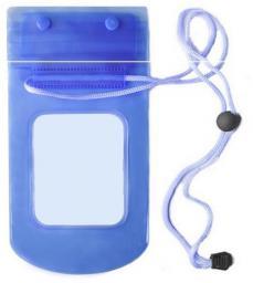 """TelForceOne Pokrowiec wodoodporny strunowy 5,5"""" niebieski (GSM034087)"""