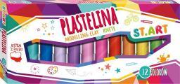 St. Majewski Plastelina, 12 kolorów (5903235203718)