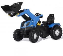 Rolly Toys Traktor Farmtrac New Holland z łyżką (611256)