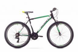 """Romet Rower górski Rambler 26"""" 1  czarno-zielony r. 19 L (1826748)"""