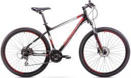"""Romet Rower górski RAMBLER 29"""" 2  czarno-czerwony 19 L"""