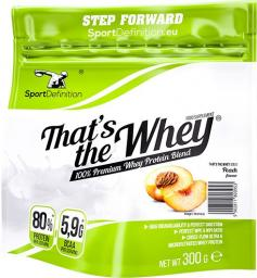 SportDefinition Thats the Whey Brzoskwinia 300g