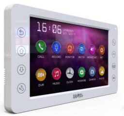 Zamel Wideomonitor z dotykowymi przyciskami 7 cali biały VP-829W (ENT10000402)