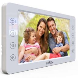 Zamel Wideomonitor z dotykowymi przyciskami 7 cali biały VP-819W (ENT10000404)
