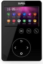 Zamel Wideomonitor z dotykowymi przyciskami 4,3 cala czarny VP-817B (ENT10000407)
