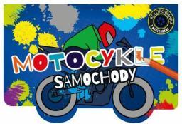 Kolorowanka z wykrojnikiem Motocykle i samochody