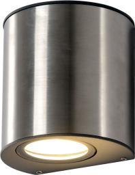 LAMPRIX Kinkiet zewnętrzny obudowa z odlewanego aluminium powierzchnia ze stali nierdzewnej szklany dyfuzor (LP-14-086)