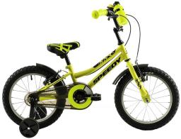 """DHS Rower dziecięcy Speedy 1603 16"""" żółty"""