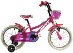 """DHS Rower dziecięcy Daisy 1604 16"""" Turkusowy"""