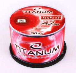 Titanum DVD+R 4.7 GB 8x 50 sztuk (E5905784762494)